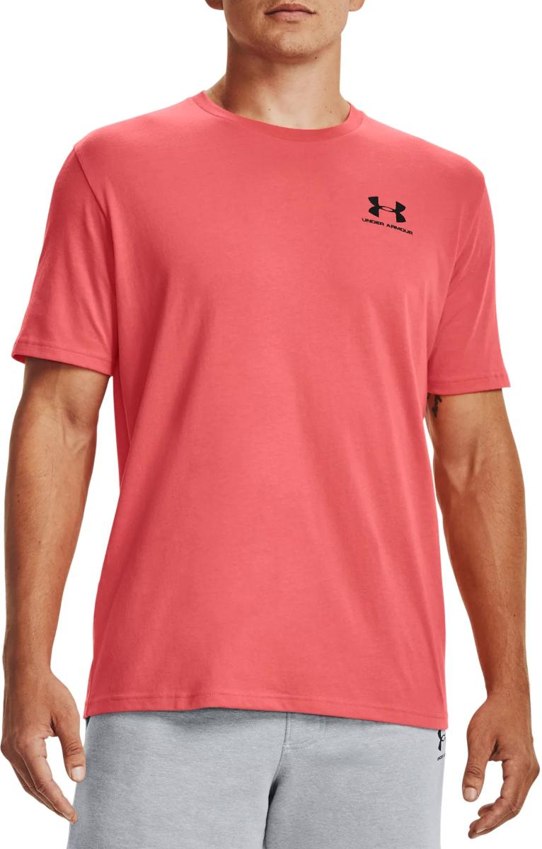 T-Shirt Under Armour UA SPORTSTYLE LC SS-RED