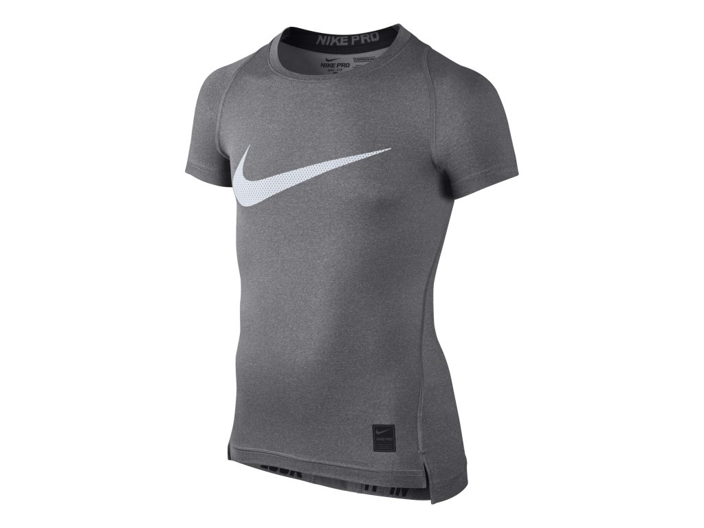 Kompressions-T-Shirt Nike B NP TOP COMP HBR SS